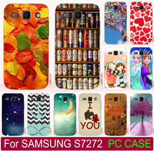 Classic Balloon Love You Beer Moon Cute Littel Girl Painted Case For Samsung Galaxy Ace 3 III S7272 S7270 Phone Case Cover Shell