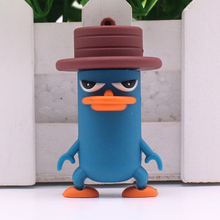 Free shipping 64GB 32GB 16GB 8GB 4GB Animal USB Flash Drive Cute DARKWING DUCK Pendrive Platypus Usb Stick Cartoon Pendriver