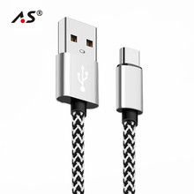 A.S USB Type C Cable Oneplus 5 USB Cable Type C Fast Charge Data Cable Samsung S9 Huawei P10 Nintendo Switch USB-C