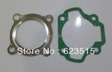 NEW OEM PW80 Cylinder head & Cylinder GASKETS FOR PEEWEE PW80 Loncin PY80  JS LC V80 80cc