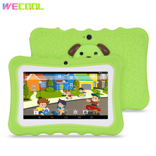 WeCool A61 Kids Tablet PC 7 Inch Android Tablet Quad Core 8GB 1024x600 Screen Children Education Games Xmax Birthday Gift PAD(Hong Kong)