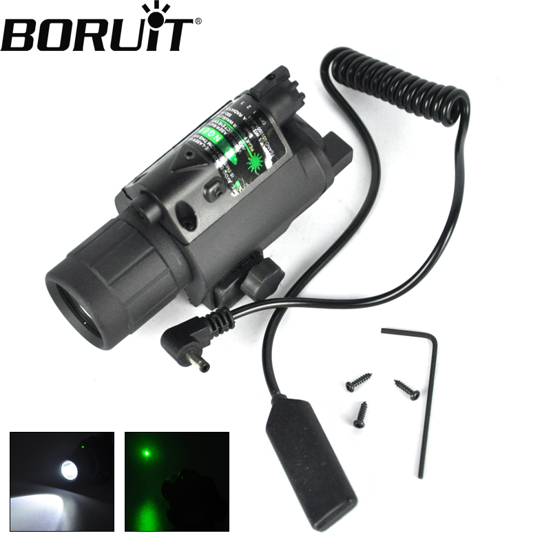 1Set Tactical Green dot Mini Red Laser Sight With Tail Switch Scope Pistol with Lengthen Rat Tail Hunting Optics new arrival<br>