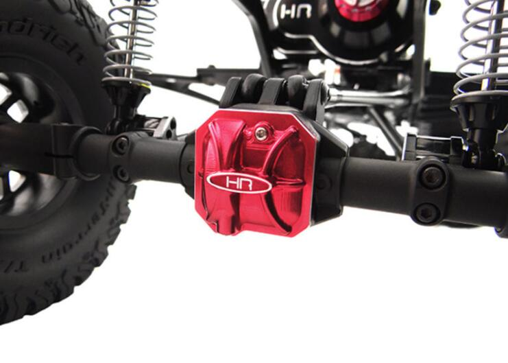 Axial Scx 2 Red Hot Racing SCXT12C02 Aluminum Ar44 Axle Diff Covers
