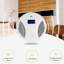 LCD Intelligent Electronic Ultrasonic Mouse Repeller UV Light Rat Electronic Pests Repeller Ultrasonic/Electromagnetic Wave(China)
