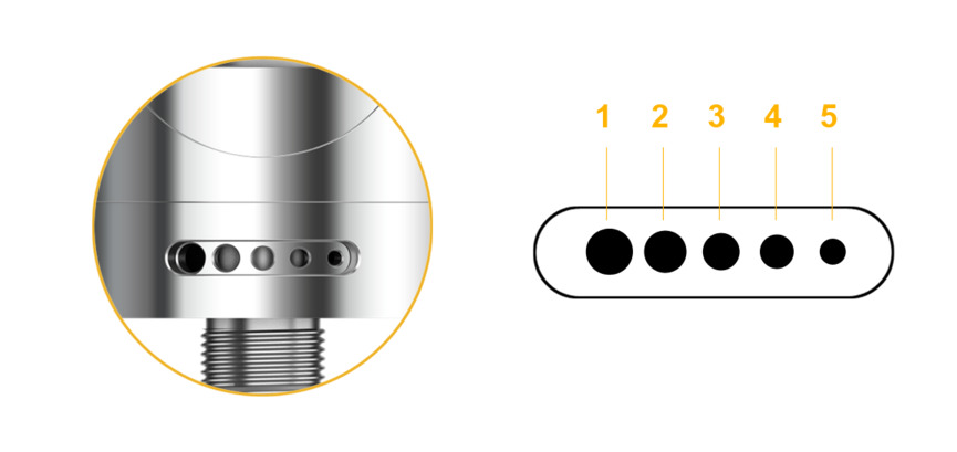 Electronic Cigarette Aspire Nautilus 2 Tank Mouth to Lung MTL Vape Vaporizer 2ML 510 Atomizer Compatible with Zelos Mod and NX30 8