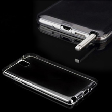 Ultra Thin Crystal Clear Note 4 Case Luxury Soft TPU Gel Case For Samsung Galaxy Note 4 N9100 IV Phone Back Cover Bag Note4 FLM