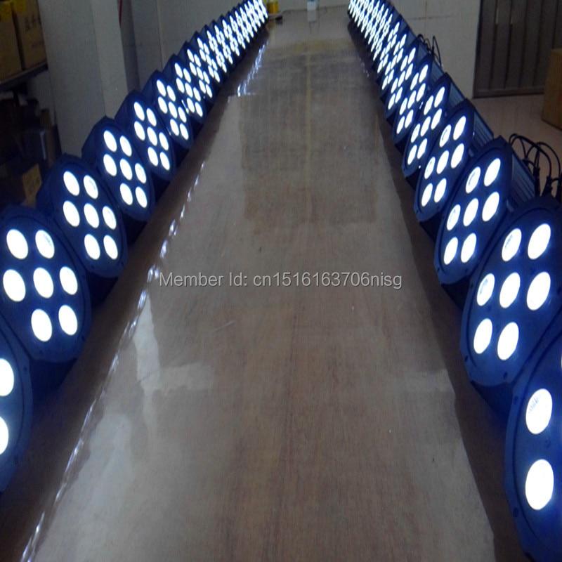16pcs/lot Wireless remote control 7x 12W RGBW DMX Stage Lights Led Flat Par High Power Light  led lamp chandelier<br>