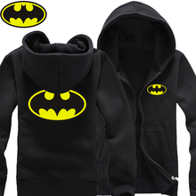1998 Batman Symbol Logos Bruce Wayne Gotham City man cotton full zip Hoodies