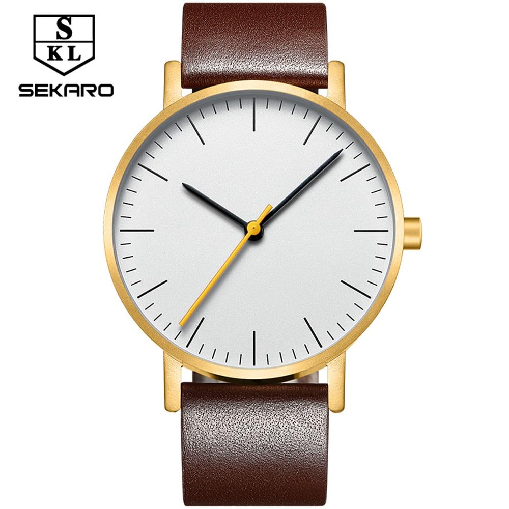 SEKARO Business Silver Band Women Watch Waterproof Ladies Quartz Wristwatches Simple Wave Dial Design relogio feminino 2017 <br>