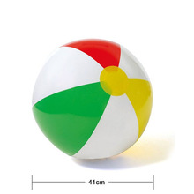 Four-color beach ball inflatable children's toys inflatable beach balloon ball