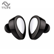 Buy TTLIFE Bean Fone De Ouvido Bluetooth Headphone Earphones Mini Bluetooth Headset Wireless Earbuds Stereo xiaomi phone for $18.83 in AliExpress store