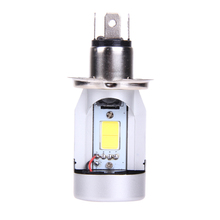Car Motor LED Headlight H4 Hi Lo 20W 2000LM  Scooter DC 12V 2500K/6500K Car Motorcycle Driving Head Lamp Fog Light