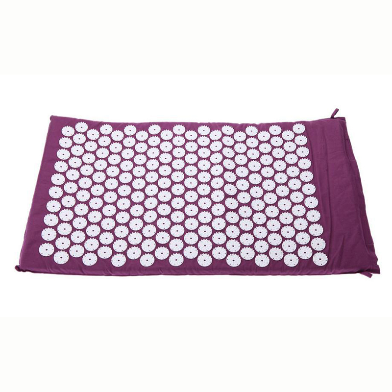 Healthsweet Massage Cushion Acupressure Mat Relieve Stress Pain Acupuncture Spike Yoga Massager Mattress 68x42cm<br>