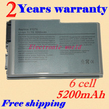 JIGU New laptop battery for Dell Latitude D500 D505 D510 D520 D600 D610 D530 Series Replace 4P894 C1295 3R305(China)