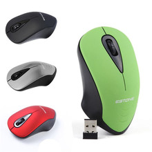 Reliable 3 buttons with scroll wheel 1200dpi 2.4 GHz Wireless Optical Mini PC Laptop Notebook gaming Mouse Mice