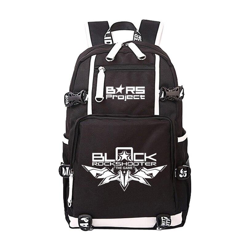 Women Men Anime Cartoon Black Rock Shooter Project Backpack Rucksack Mochila Schoolbag Bag For School Boys Girls Student Travel<br>