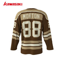 Kawasaki Brand V-neck With Rope Ice Hockey Jersey Youth Mens 88# XS-4XL Plus Size Custom Practice Sports Hockey Jersey