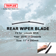 "Rear Wiper Blade for Lincoln MKX (2016-Onwards) 1pc 11"" 280mm,Car Rear Windscreen Wipers,for Back Window Windshield Blades"
