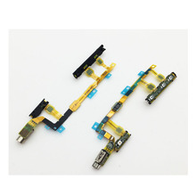 Mobile Phone Parts For Sony Xperia Z3 Compact OEM Volume Button, Vibration Motor and Power Switch Flex Cable
