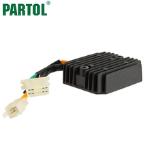 Partol Motorcycle Regulator Rectifier For Honda XLV750R 1983-1985 VF700C VF700 VF 700 C 700 V SHADOW  VT800C VT800 VT 800 C