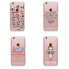 Stranger Things Christmas Lights Soft silicone TPU Phone Cases For iphone 7 7Plus 6S 6Plus 5 5S SE 8 8Plus X Cover(China)