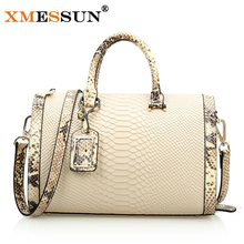 Genuine Leather Bags Crocodile Snake Skin Women Handbag Fashion Designer Brand High Quality Shoulder Bags Ladies Tote Bag B646
