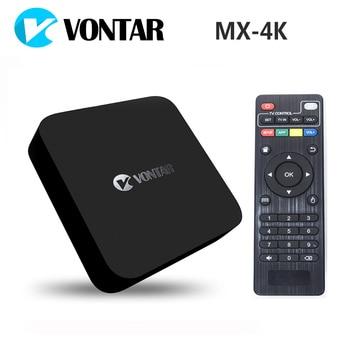 [Genuine] VONTAR MX-4K Rockchip RK3229 Quad Core Android TV BOX 1GB/8GB Support 2.4G WiFi 4K ULTRA HD H.265 60tps KODI OTA