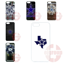 For Apple iPhone 4 4S 5 5C SE 6 6S 7 7S Plus 4.7 5.5 iPod Touch 4 5 6 Cell Phone Case Dallas Cowboys Metal Mesh Plates