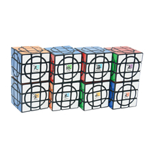 8PCS planet/set MF8 Crazy 3x3 Plus Cube Black Magic Cube Puzzle The Eight Planets Collector's Gift Idea Limited Version(China)
