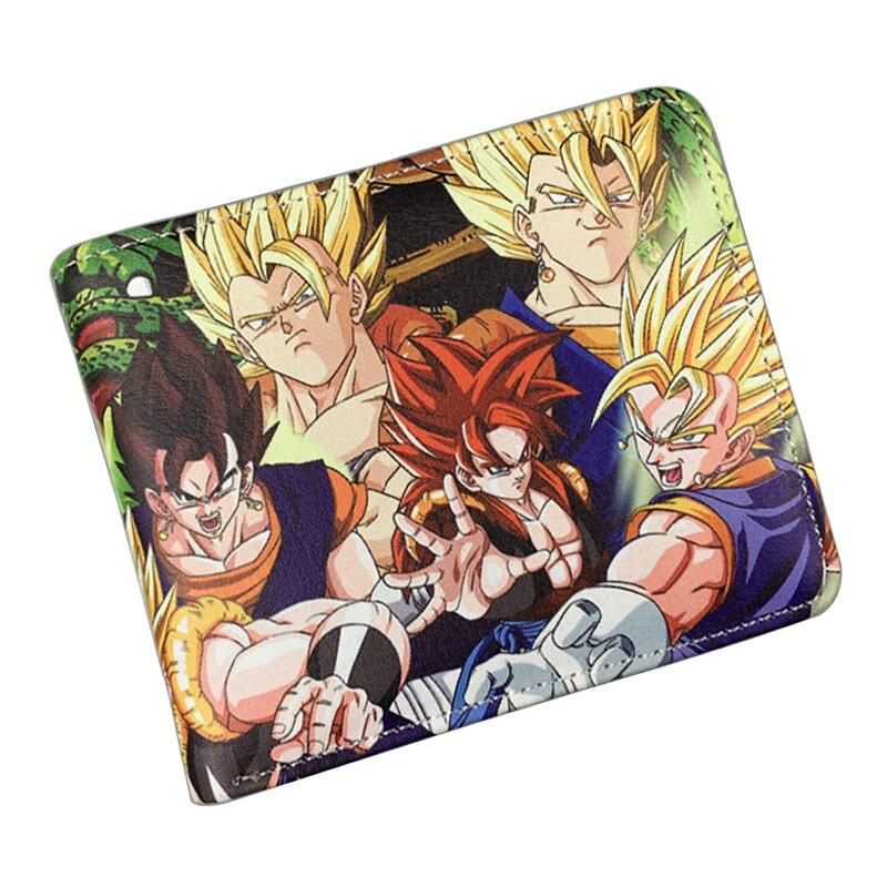 Bioworld Anime Wallets Dragon Ball Z Sun WuKong Purse PU Leather Money Bags Gift Young Men Women Cartoon Comics Dollar Wallet<br><br>Aliexpress