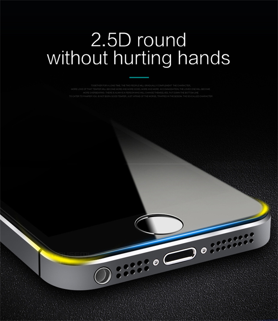 MOUSEMI Protective Glass On For Apple iPhone 5s 5 se Screen Protectors Ultra Thin Premium Film 9H For iPhone 5 5s Tempered Glass (3)