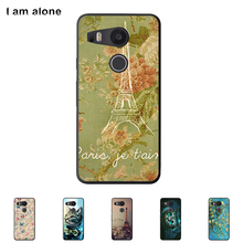 For LG Google Nexus 5X 5.2 inch Cellphone Cover Mobile Phone Protective Skin Color Paint Bag Shipping Free