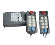 Hoist Switch Industrial Remote control with Emergency 2Transmitter+1Receiver