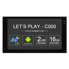 4G SIM LTE Nerwork C500 Octa 8 Core Android 6.0 2G RAM 2 Din Car DVD GPS Navi Radio Player For All models