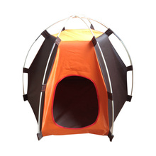 Portable Folding Pet Tent Outdoor Dog Bed Puppy Kennel Exercise Play Foldable Design Travel Camping Pet Supplies