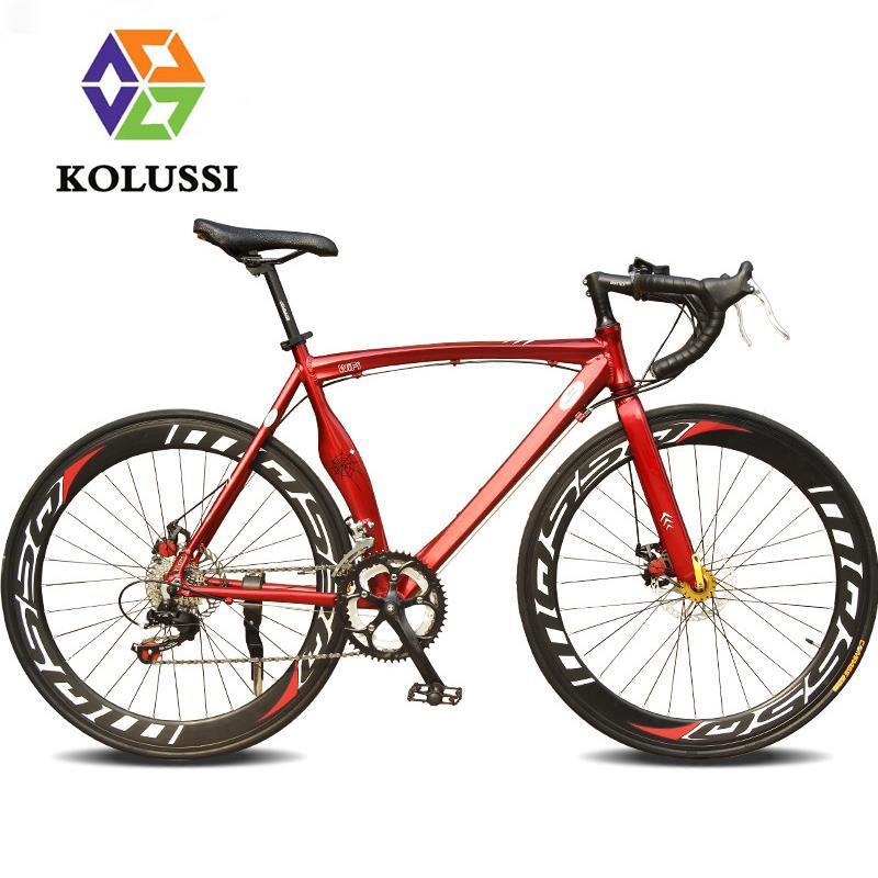 High quality aluminum racing bicycle frame 700c bend handlebar 14 speed road bike vehicle sale disc brake bisiklet