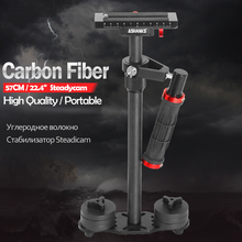 ASHANKS Carbon Fiber 57CM/22.4'' Handheld Steadycam Stabilizer DSLR Steadicam Canon Sony Nikon GoPro AEE Video Camera - Official Store store