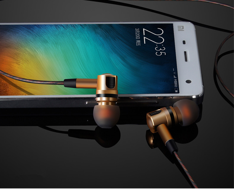SltcrPasion X46M Detachable Stereo Phone Earphone with Microphone for iPhone Xiaomi Airpods Earpods Ecouteurs MP3 Fone De Ouvido