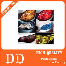 60CM*30CM Auto Car Light Headlight Taillight Vinyl Film Sticker Transparent Film Car Light Change Color Tint Film Stickers(China)