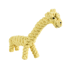 Tough Strong Baby Chew Knot Teddy Toy Pet Puppy Healthy Bear Cotton Rope Practical Jokes Toys(China)