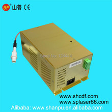 co2 laser power supply 80w for laser engraving cutting machine Shanghai SP 80w laser tube CDF Series V2 laser tube(China)