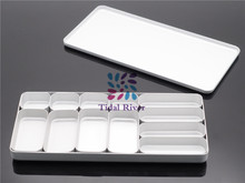 Dental Bur H K File Holder Block Sterilizer Case Disinfection Endo Box Set For Dental Lab(China)