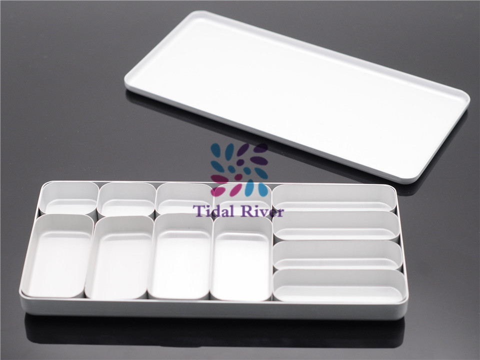 Dental Bur H K File Holder Block Sterilizer Case Disinfection Endo Box Set For Dental Lab<br>