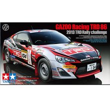 24337 1/24 GAZOO Racing TRD 86 2013 TRD model hobby plastic assembly model kits scale car model building kit