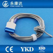 3pcs/pack Free shipping!! GE-marqutte OXIMAXI/OHMEDA direct neonatal wrap spo2 sensor,11pin,medical TPU,CE&ISO13485(China)