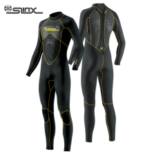 Slinx 3MM Neoprene Men's Wetsuits Bodysuit Full Body Scuba Dive Wet Suit Winter Swim Warm Surf Snorkeling Spearfishing Water Ski