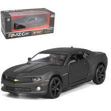 UNI 1/36 Scale USA Chevrolet Camaro Bumblebee Matte Black Version Diecast Metal Car Model Toy New In Box For Kids/Gift