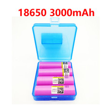 4PCS 100% liitokala brand 30Q for samsung 18650 3000mAh battery lithium battery inr18650 powered rechargeable battery