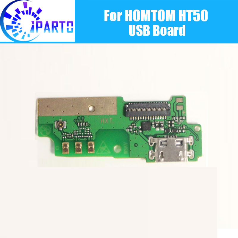 HOMTOM HT50 usb board 100% Original New usb plug charge board Replacement Accessories HOMTOM HT50