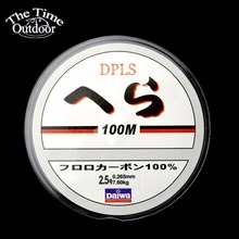 Fishing Line Brand Super Strong Japanese 100m Carbon Fiber Leader Nylon Transparent Fishing Line Fishing Tackle(China)